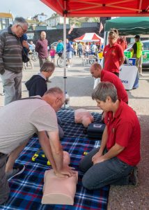 Public education in CPR and the use of a defibrillator